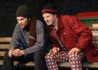 Jurij Diez und Jurek Milewski in Antigone in New York